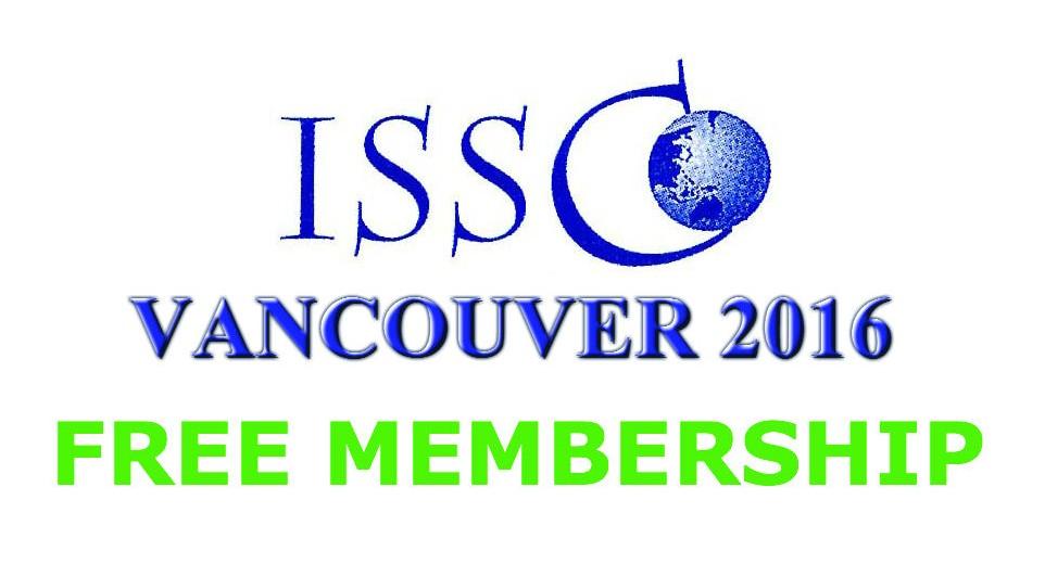 ISSCO 2016 Free Membership